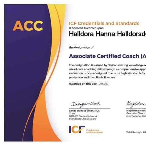 Halldóra Hanna Halldórsdóttir, ACC