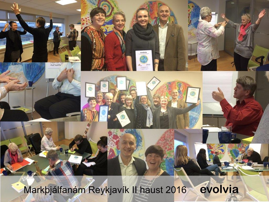 Markþjálfanám Rvk II, haust 2016