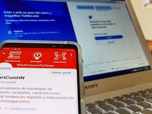 Unos 190 mil hondureños son usuarios de Twitter