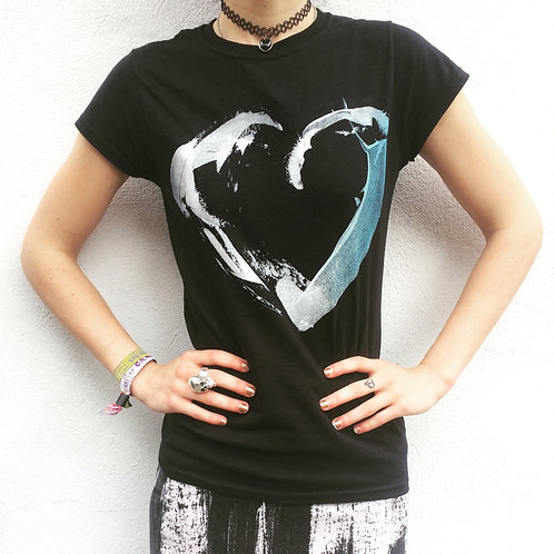 Ladies 'Paper Heart' Tour T-shirt