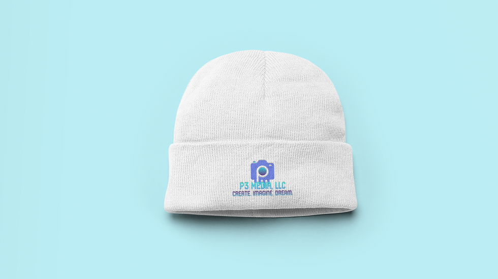 The P3 Logo Embroidered Beanie