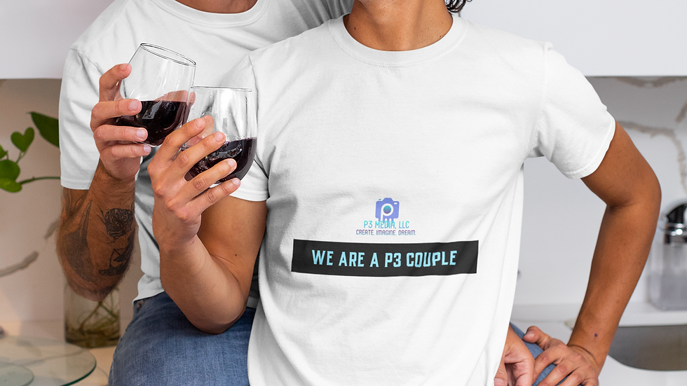 We Are  P3 Couple T-Shirt