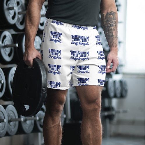 MEN'S ATHLETIC LONG SHORTS - FULL STEP-N-REPEAT PATTERN