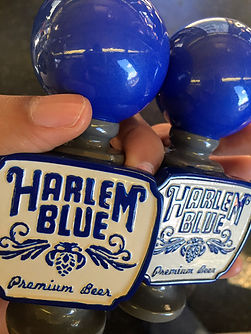 harlem blue taphandles