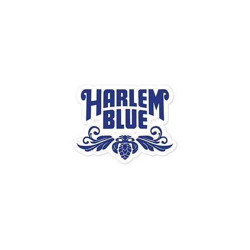 HARLEM BLUE STICKERS -BLUE