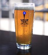 harlem beer pint glass