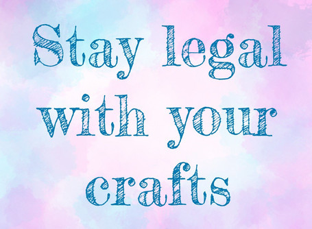 Stay legal with your Craft.