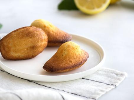 [Recette]Madeleines au citron & huile d'olive par Hélène Darroze