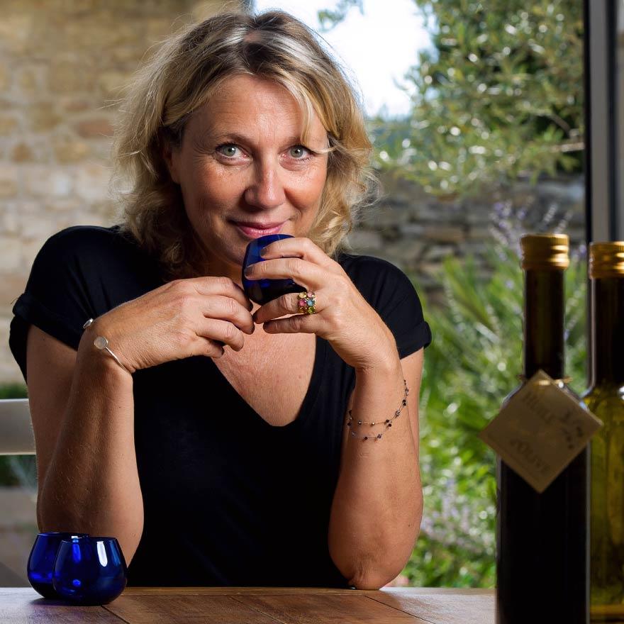 Alexandra Gauquelin-Roché, productrice Les Callis et marraine de Chercheurs d'or vert.