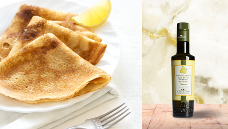 La meilleure recette de crêpes (à l'huile d'olive, bien sûr) !