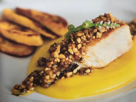 [Recette] Poisson à la sauce noix de cajou et banane à l'huile d'olive