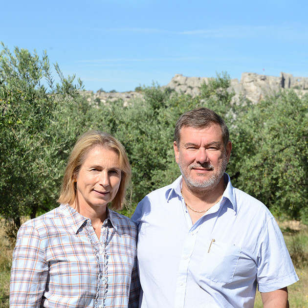 Catherine et Jean-Benoît Hugues - Castelas
