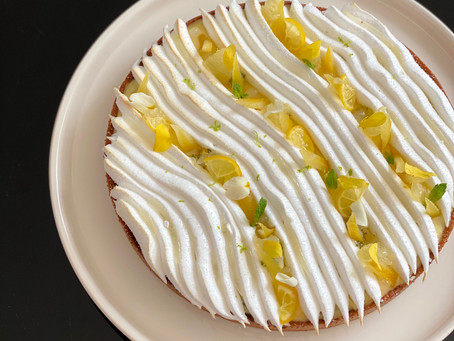 [Recette] Tarte citron meringuée & huile d'olive