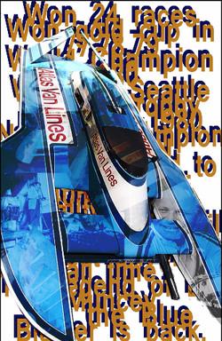Blue Blaster Anniversary Project