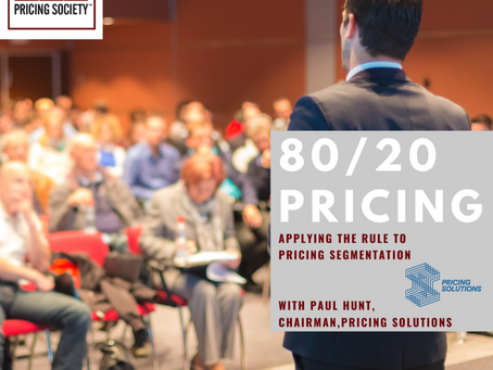 Applying The 80/20 Rule To Pricing Segmentation