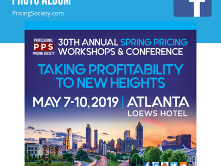 The 30th Annual Spring Pricing Workshops and Conference Event Recap