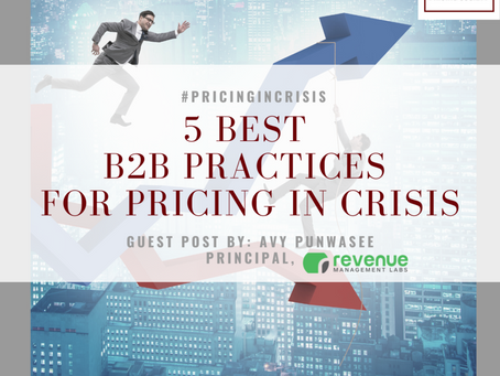 5 Best B2B Practices For Pricing In Crisis