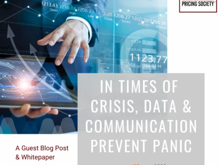 In Times of Crisis, Data and Communication Prevent Panic