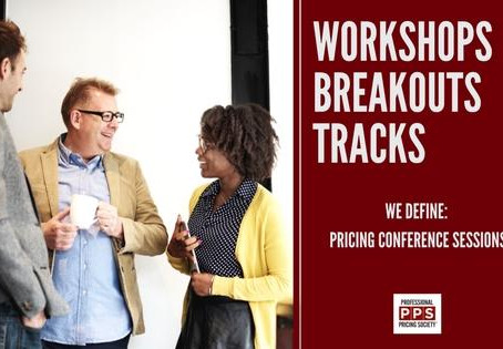Pricing Conference Sessions Defined: Workshops, Breakouts & Tracks