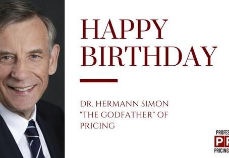 Celebrating 70 Years: Dr. Hermann Simon