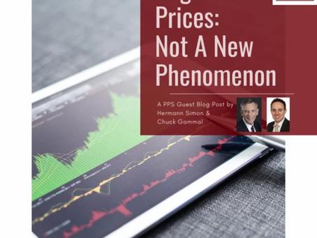 Negative Prices: Not A New Phenomenon