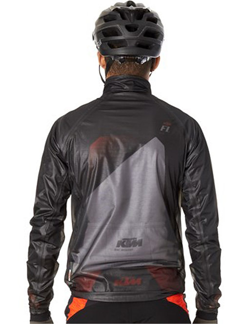 KTM Black Factory Team Windbreaker MTB Jacket