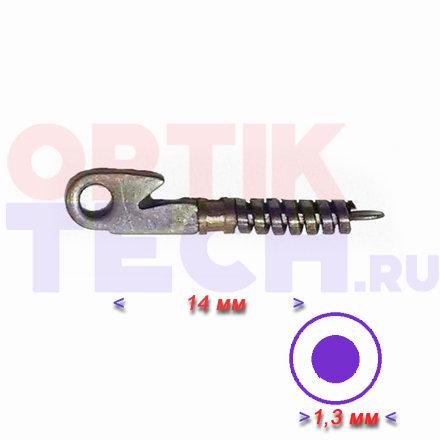 Флекс №2 открытый - 14 мм, диаметр отверстия 1,3 мм, 20 шт.