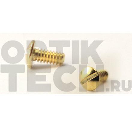 Винт 3,0х2,8х1,4 мм (золото), 100 шт.