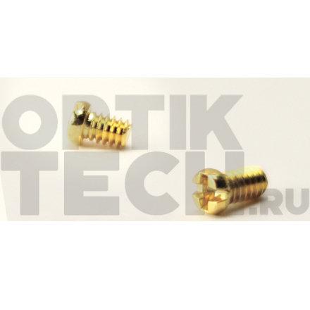 Винт 2,0х2,0х1,4 мм (золото), 100 шт.
