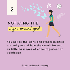 Noticing the signs around you