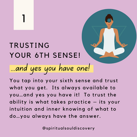 Trusting your 6th sense