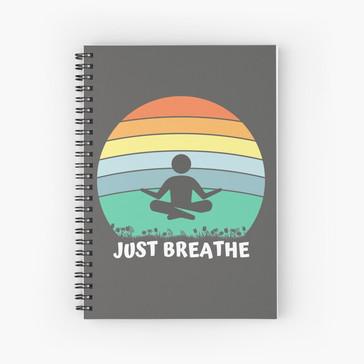 Just Breathe rainbow meditation