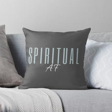 Spiritual AF LIGHT BLUE design