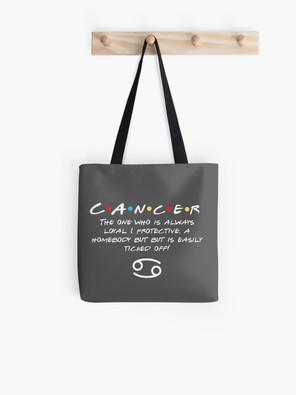 Cancer Zodiac Friends themed design