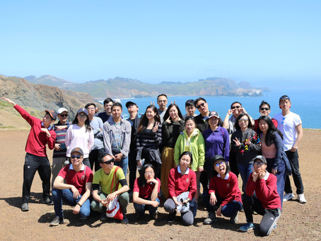 SF YAD Nature and Meditation Retreat at Marin Headlands 舊金山青年回歸自然 平靜心靈尋找平衡