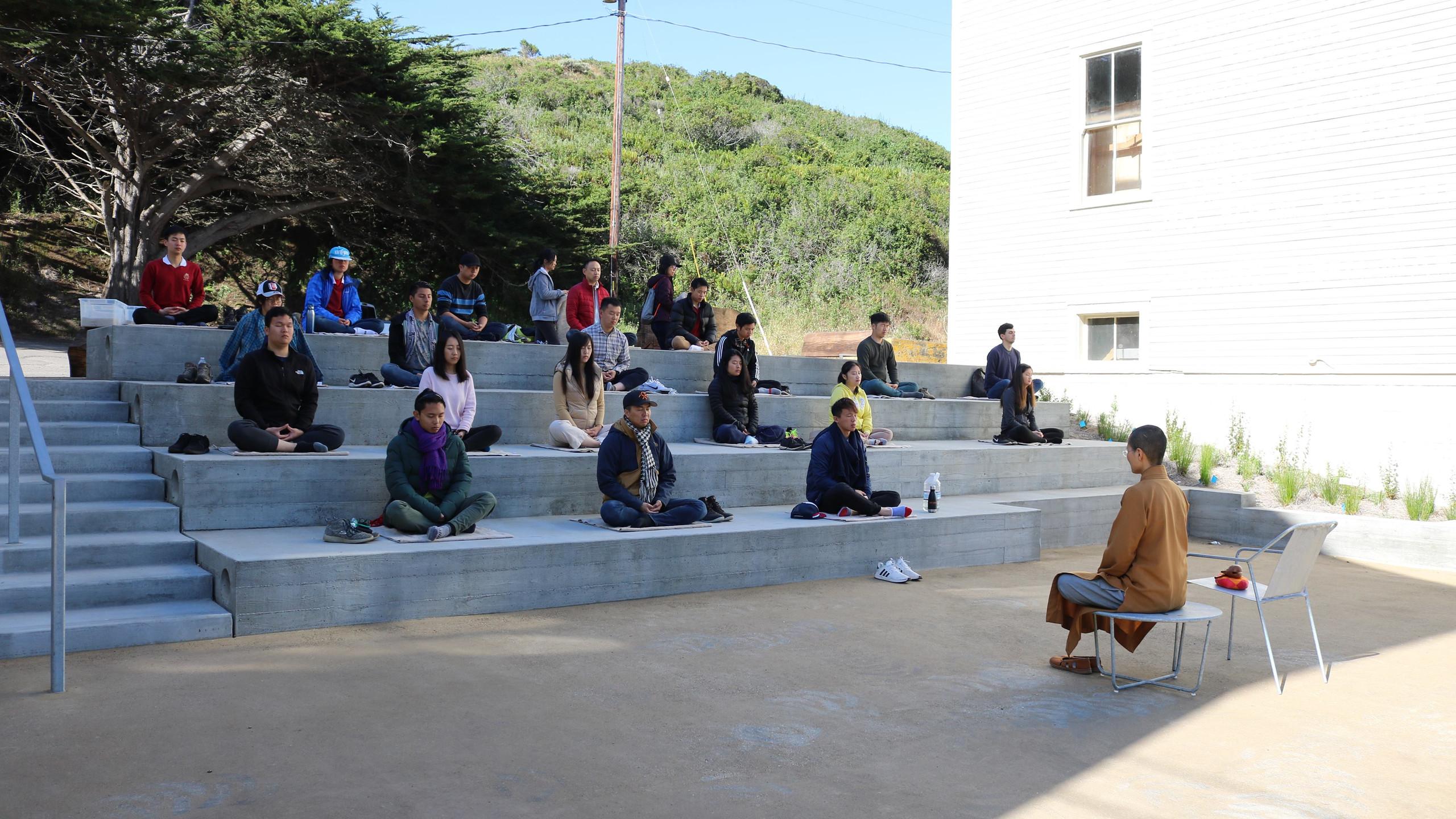 Outdoor Meditation Class