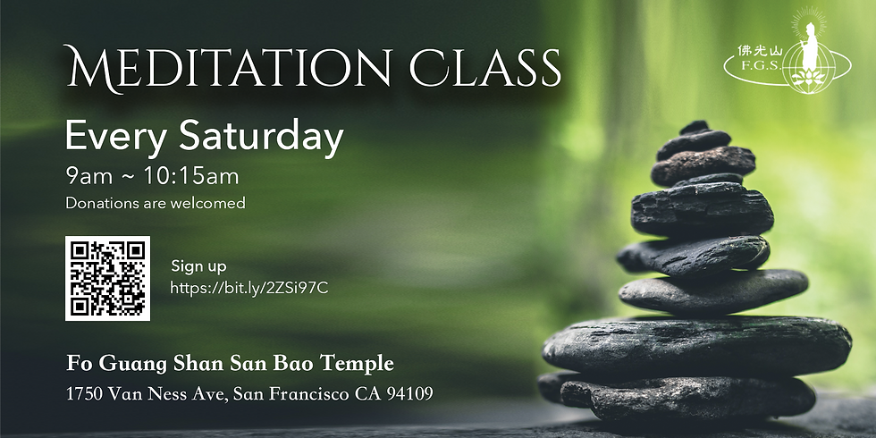 Online Saturday Meditation Class