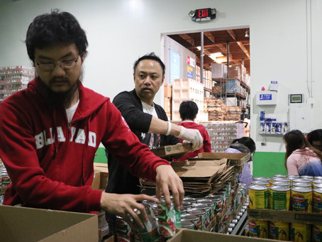Giving Back with an Impact: SFYAD Volunteers at the Local Food Bank