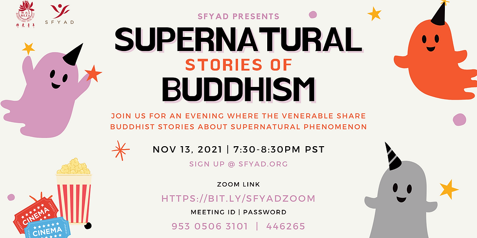 Supernatural Stories of Buddhism