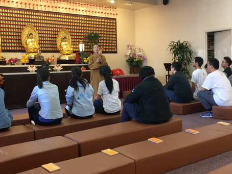 [2017.06.11] San Francisco YAD Enrich Themselves Through Experiencing Temple Life