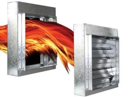 Fire Damper, Smoke Damper, Inspection