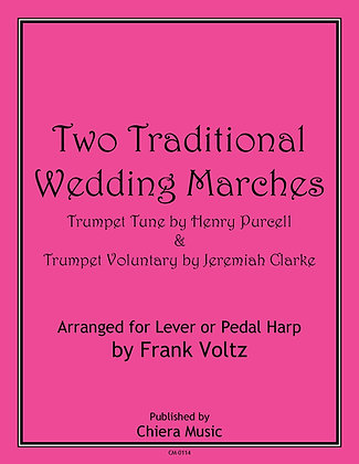 Two Traditional Wedding Marches - PDF