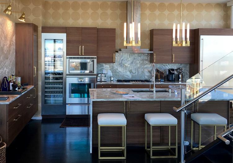Kitchen remodel W Residences