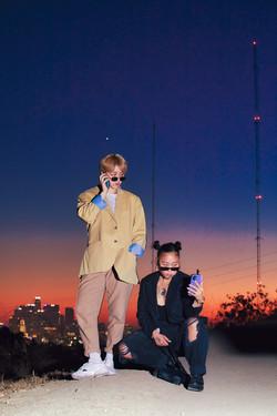 "Haezy & Sunwoo ""Streetlights"" album art"