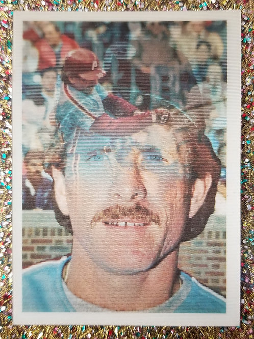 Holographic Mike Schmidt Baseball card