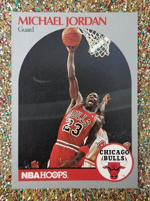 Michael Jordan Chicago Bulls NBA Hoops Card