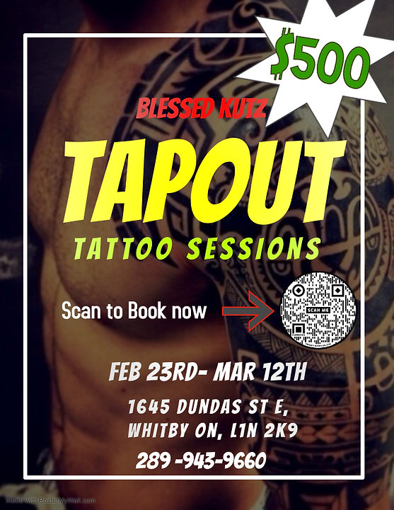 Copy of TATTOO FLYER - Made with PosterM