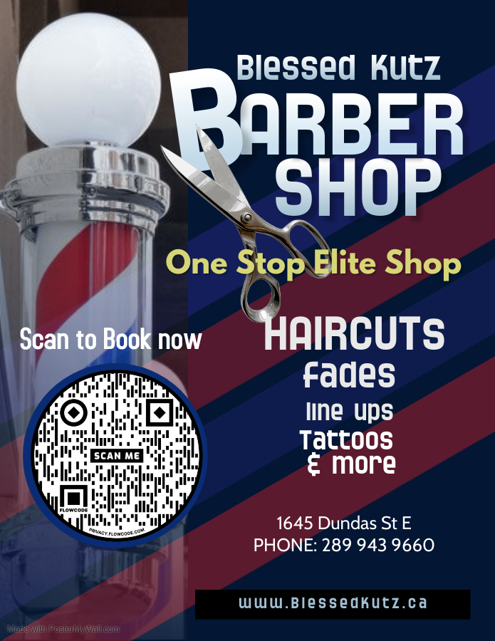 Copy of Barber Shop Flyer - Made with Po