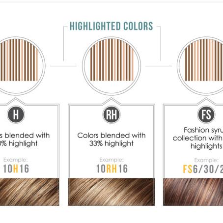 Jon Renau Color Codes