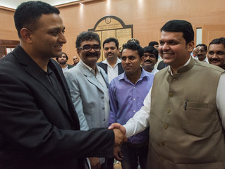 State government ministers welcome MIT team to Nashik before Kumbhathon5